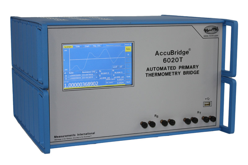 Measurements International Accubridge 6020T Thermometry Bridge