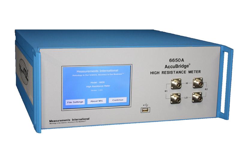 6650A Resistance Meter