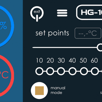 HG-101 Lite software for PC or Android