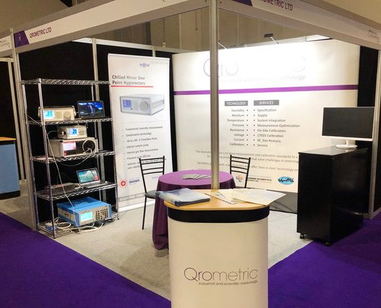 Qrometric Stand at Sensors and Instrumentation Live